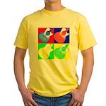 acoustic pop Yellow T-Shirt