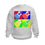 acoustic pop Kids Sweatshirt