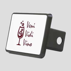 I CAME I SAW I WINED Hitch Cover