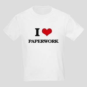 I Love Paperwork T-Shirt