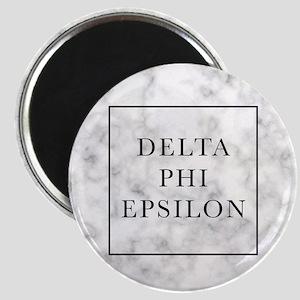 Delta Phi Epsilon Marble Magnet