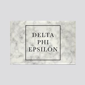 Delta Phi Epsilon Marble Rectangle Magnet