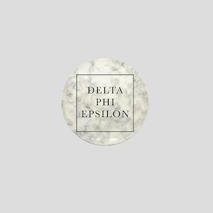 Delta Phi Epsilon Marble Mini Button