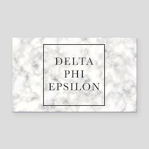 Delta Phi Epsilon Marble Rectangle Car Magnet