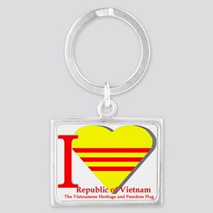 I Love The Republic Of South Vietnam Keychains