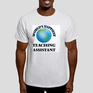 World's Happiest Teaching Assistan T-Shirt