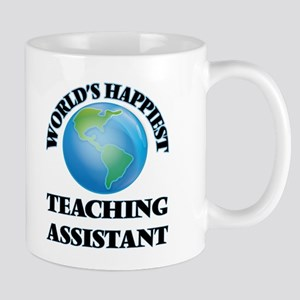 World's Happiest Teaching Assistant Mugs