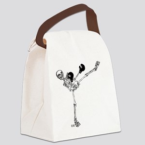 Kickboxer Canvas Lunch Bag