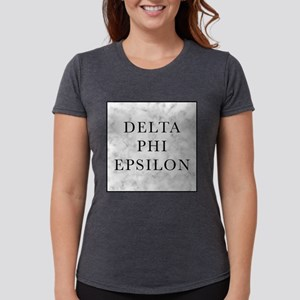 Delta Phi Epsilon Marble Womens Tri-blend T-Shirt