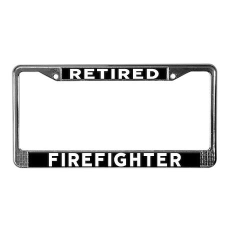 Firefighter License Plate Frame by shelflifeshop