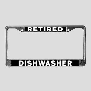 Dishwasher License Plate Frame