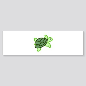 TURTLE APPLIQUE Bumper Sticker