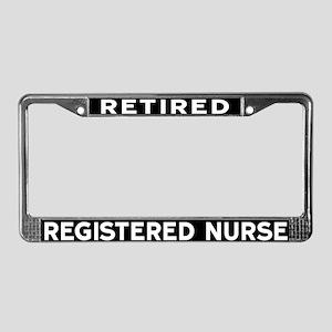 Registered Nurse License Plate Frame