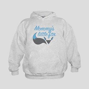 Mommy's Little Fox Blue Sweatshirt