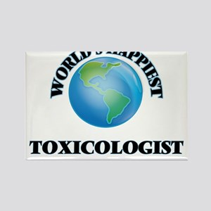 World's Happiest Toxicologist Magnets
