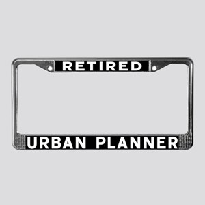 Urban Planner License Plate Frame