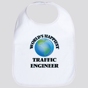 World's Happiest Traffic Engineer Bib