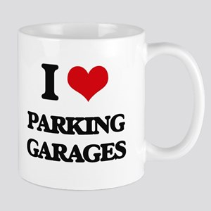 I Love Parking Garages Mugs