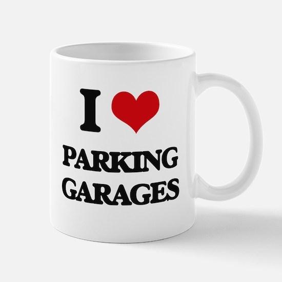 I Love Parking Garages Mugs