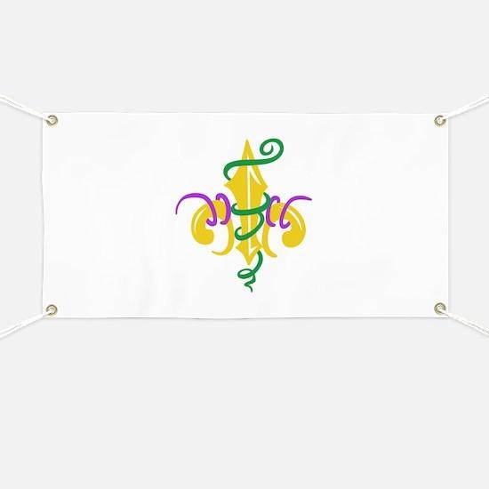 MARDI GRAS LE FLUER Banner