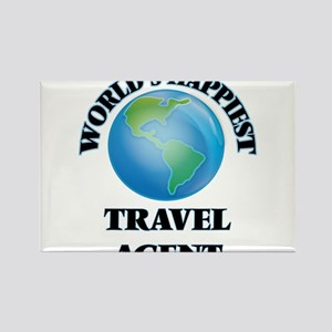 World's Happiest Travel Agent Magnets