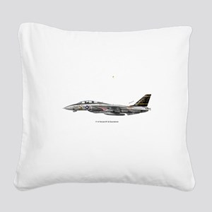 3-vf325x3rect_sticker Square Canvas Pillow