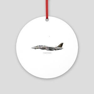 3-vf325x3rect_sticker Ornament (Round)
