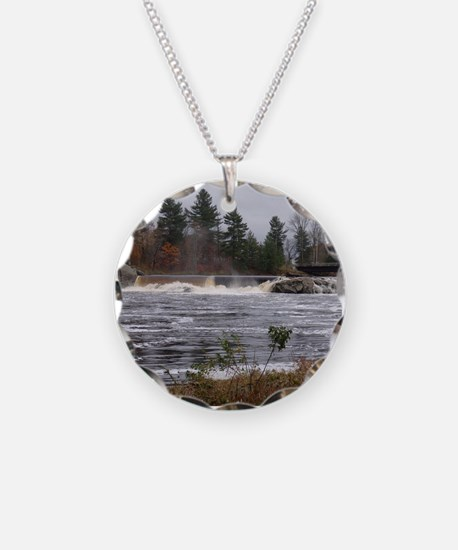 Port Leyden Dam and Falls 2 Necklace