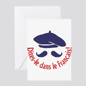 SAY IT IN FRENCH Greeting Cards