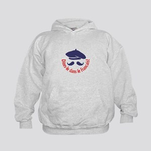 SAY IT IN FRENCH Hoodie