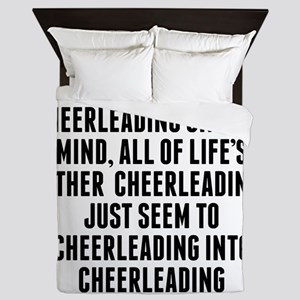 Cheerleading On Your Mind Queen Duvet