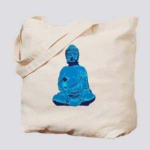 Buddha blue Tote Bag