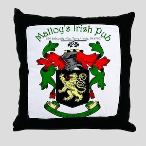 Malloy's Throw Pillow