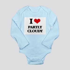 I love Partly Cloudy Body Suit
