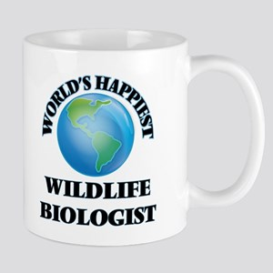 World's Happiest Wildlife Biologist Mugs