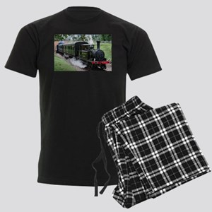 Steam Train Men's Dark Pajamas