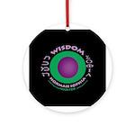 Wisdom Ornament (Round)