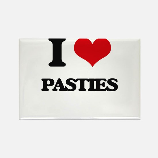 I Love Pasties Magnets