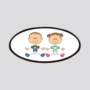 STICK FRATERNAL TWINS Patches