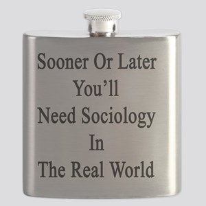 Sooner Or Later You'll Need Sociology In The Flask