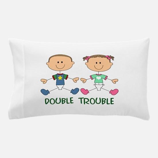 TWINS DOUBLE TROUBLE Pillow Case