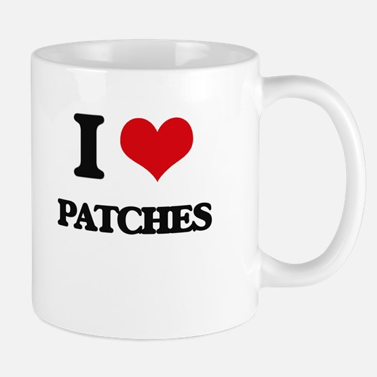I Love Patches Mugs