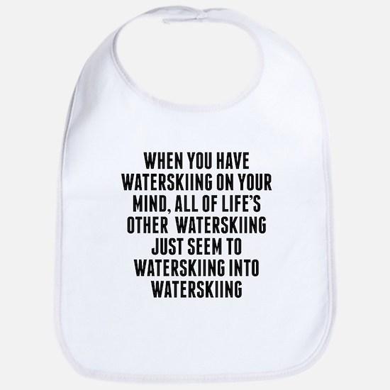 Waterskiing On Your Mind Bib