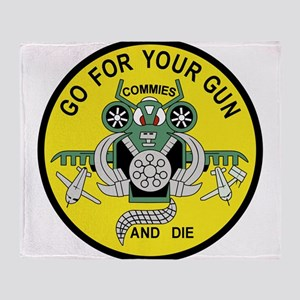 a-10_patch_fighter_COMMIES Throw Blanket