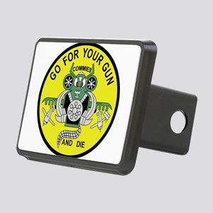 a-10_patch_fighter_COMMIES Rectangular Hitch Cover