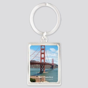 San Francisco Portrait Keychain