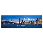 San Francisco Sticker (Bumper 10 pk)
