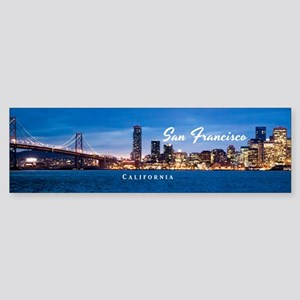 San Francisco Sticker (Bumper)