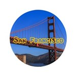 """San Francisco 3.5"""" Button"""