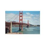 San Francisco Rectangle Magnet (100 pack)